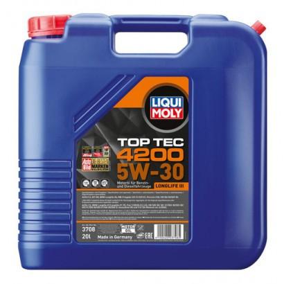 Ulei de motor Top Tec 4200 5W-30 (3708 ) 20L