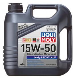 Ulei motor Liqui Moly MoS2 Super Leichtlauf 15W-50 (2457) 4L