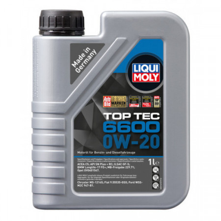 Ulei motor Liqui Moly Special Tec 6600 0W 20 (21410) 1L