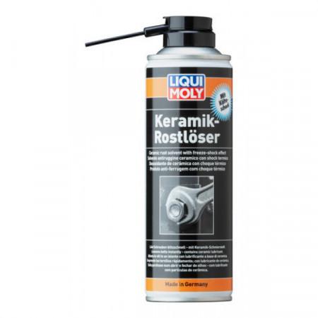 Spray Liqui Moly cu particule ceramice pentru îndepărtat rugina cu efect de răcire