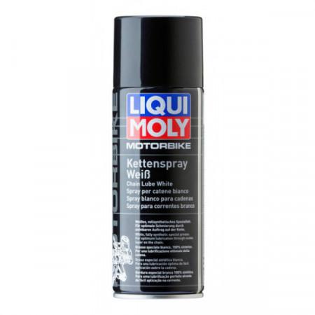 Spray alb Liqui Moly ungere lanţ MOTORBIKE