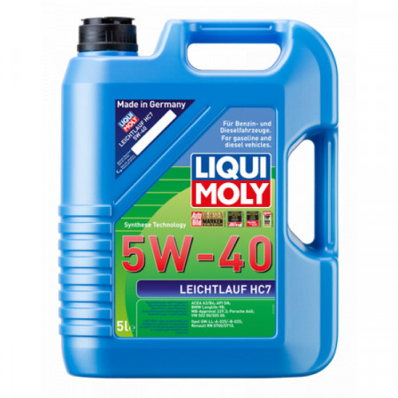 Ulei motor Liqui Moly Leichtlauf HC7 5W-40 (1347) (2309) 5L