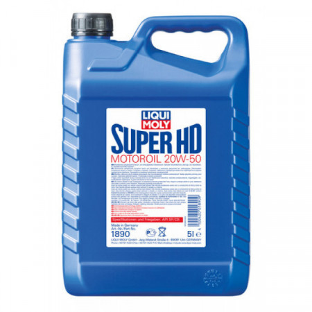 Ulei motor Liqui Moly Super HD 20W-50