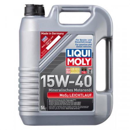 Ulei motor Liqui Moly MOS2 Leichtlauf 15W-40 (2193) (2571) 5L