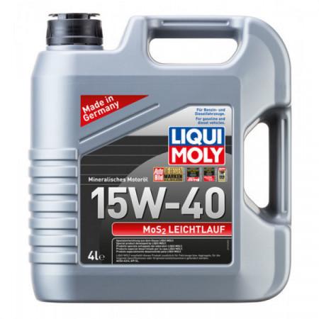 Ulei motor Liqui Moly MOS2 Leichtlauf 15W-40 (2631) 4L