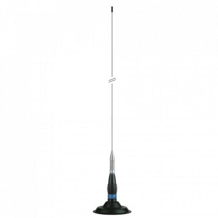 Antena Radio CB, President ML145 cu Baza Magnetica President, 153cm