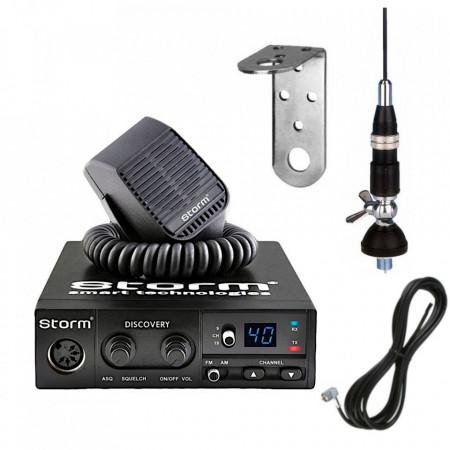 Kit Storm Discovery 3 cu Antena Sirio