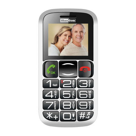 Telefon Seniori Maxcom MM462BB