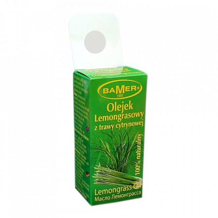 Ulei Esential de Lemongrass Bamer, natural, pentru aromoterapie, cosmetica, baie, masaj, 7ml, foto 2