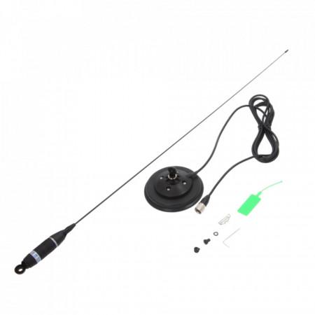 Antena Radio CB, Sirio Omega 27 cu Baza Magnetica, 90cm