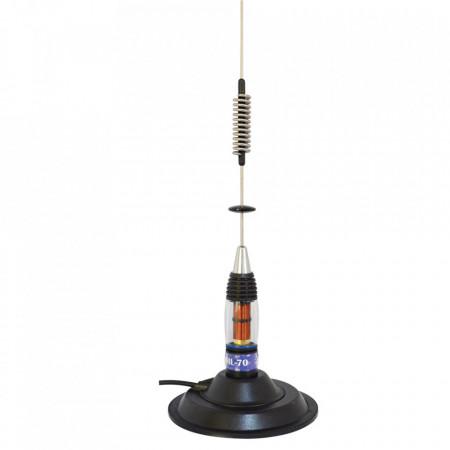 Antena Radio CB PNI ML70, cu Baza Magnetica Inclusa FOTO 1