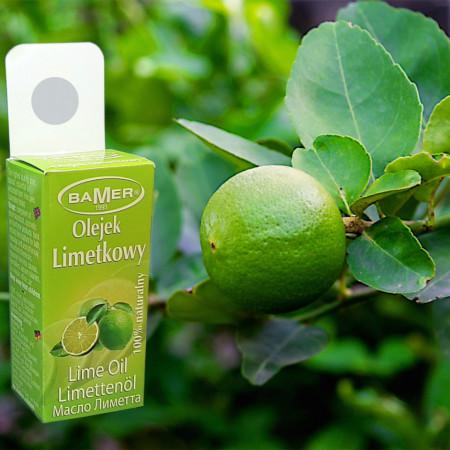 Ulei Esential de Lime Bamer, natural, pentru aromoterapie, cosmetica, baie, masaj, 7ml, foto 1