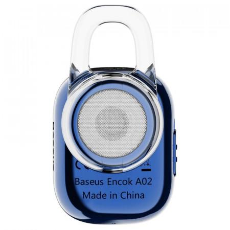 Casca Bluetooth Baseus Encok A02 Blue