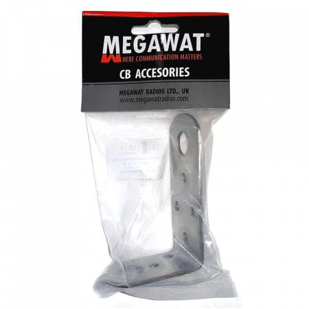 Suport Tip L Megawat, din inox, pentru prinderea fixa a antenelor radio, Foto 3