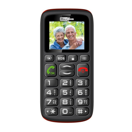Telefon Seniori Maxcom MM428BB