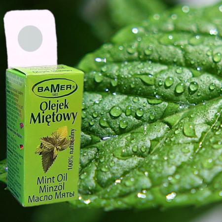 Ulei Esential de Menta Salbatica, natural, pentru aromoterapie, cosmetica, baie, masaj