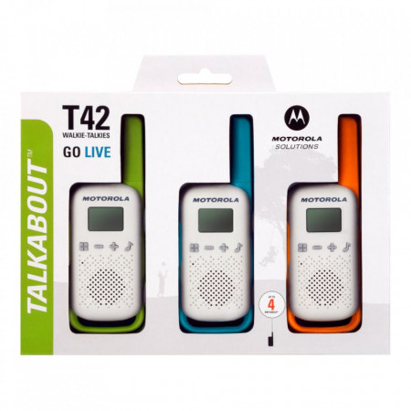 Statii Radio Portabile Motorola T42 Triple Pack