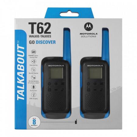 Motorola Talkabout T62 Walkie Talkie Twin-Pack