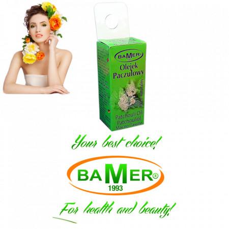 Ulei Esential de Patchouli Bamer, natural, pentru aromoterapie, cosmetica, baie, masaj, 7ml, foto 3
