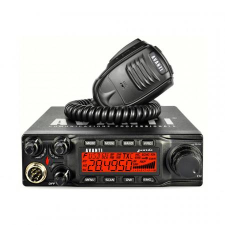 Statie Radio CB Avanti Guarda, AM / FM, USB / LSB, ASQ, RFG