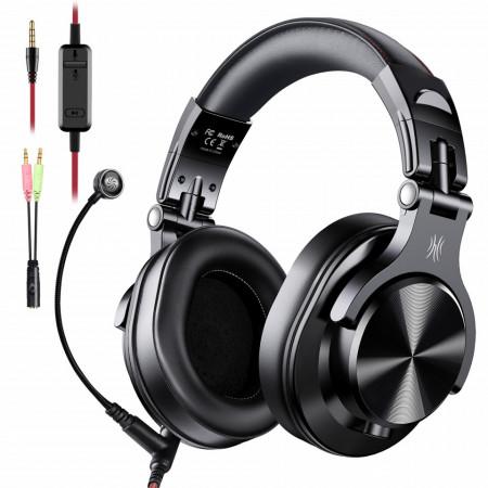 Casti Audio Over Ear Stereo cu microfon A71