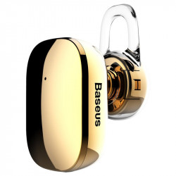 Casca Bluetooth Baseus Encok A02 Gold, Mini, Vers 4.1 Noise Reduction