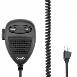 Microfon Statie Radio CB, tip mufa RJ45, pentru statii radio PNI Escort HP 6500, PNI Escort HP 7120