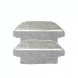 Set cu doua lavete microfibra, compatibil cu robotii de aspirare Viomi  Xiaomi Foto 2