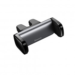 Suport Auto Telefon Baseus Steel Cannon pentru grila auto de ventilatie, Negru