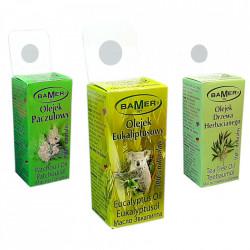 Set Uleiuri Esentiale Green Pak. 100% Naturale, Ulei de Eucalipt, Paciuli si Tea Tree