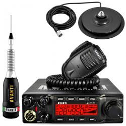 Statie Radio Avanti Guarda PRO-version cu Antena Avanti Regale Plus si Baza Magnetica Storm 170PL