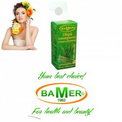 Ulei Esential de Lemongrass Bamer, natural, pentru aromoterapie, cosmetica, baie, masaj, 7ml, foto 3