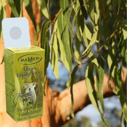 Ulei Esential Eucalipt Bamer, 100% natural (Eucalyptus Globulus Oil), pentru aromoterapie, cosmetica, baie, masaj, 7ml