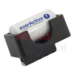 Adaptor de incarcare EverActive pentru acumulatori tip C R14 si D R20 pentru conectare la incarcator