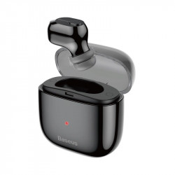 Casca Bluetooth Business Baseus Encok A03, Mini Single TWS, In-Ear, Charging Dock, Neagra