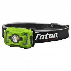 Lanterna Frontala LED Foton, reincarcabila cu senzor de prezenta IR si iluminare Downcast, 300 lumeni