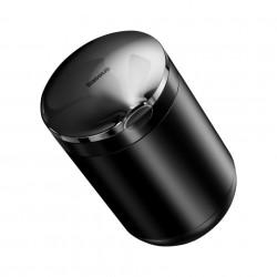 Scrumiera Auto Baseus tip Pahar cu Capac si LED Iluminare Interior, Neagra, Foto 3