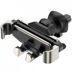 Suport Auto Universal Hoco Selected Guide S25, Gravitational, Montaj grila de ventilatie, Silver