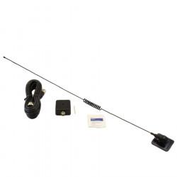 Antena Radio CB Avanti Viaggi, montaj On Glass, pe parbiz, 50Watt, 70cm