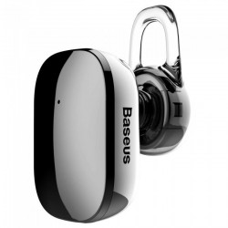 Casca Bluetooth Baseus Encok A02 Grey, Mini, Vers 4.1 Noise Reduction