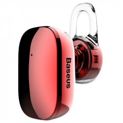 Casca Bluetooth Baseus Encok A02 Red, Mini, Vers 4.1 Noise Reduction