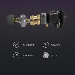 Casti Audio Bluetooth BlitzWolf® BW-FYE7 TWS Dual Dynamic Driver, Foto 6