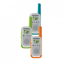 Statie Radio Portabila PMR446 Motorola Talkabout T42, Triple-Pack Holiday