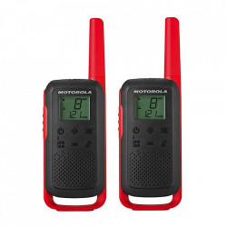 Statie Radio Portabila PMR446 Motorola Talkabout T62, Twin-Pack Red + Charger
