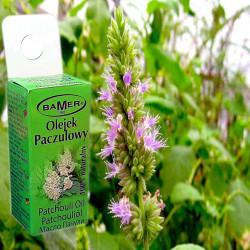 Ulei Esential de Patchouli Bamer, natural, pentru aromoterapie, cosmetica, baie, masaj, 7ml, foto 1