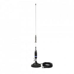 Antena Radio CB PNI S75 tip Fluture, cu Baza Magnetica 125mm, 70cm