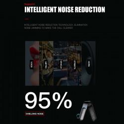 Casca Bluetooth Mini V XO B30 Noise Reduction, Fingerprint Touch, Bluetooth V.5.0, Negru sau Alb