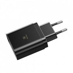 Incarcator Retea Telefoane Baseus 3x USB Negru Foto2