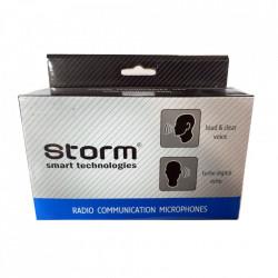 Microfon Statie Radio CB, conector 6 pini, Condensator, Storm