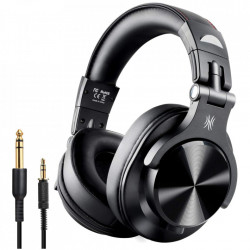 Casti Audio Over Ear Stereo OneOdio A70, Wireless Bluetooth & Wired Black
